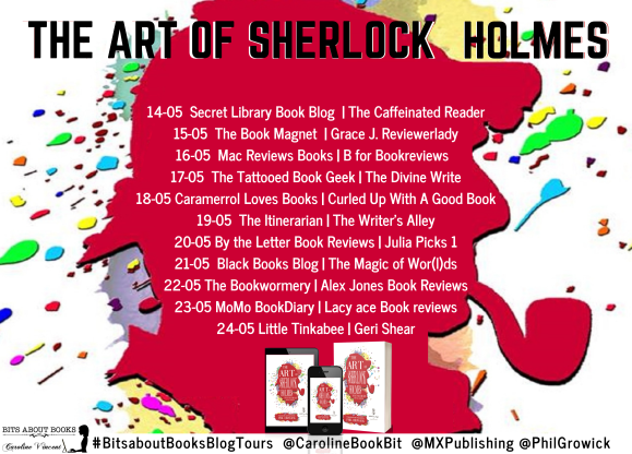 Blog Tour Poster The Art of Sherlock Holmes.png