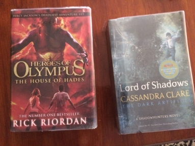 30P each, so a total of 60P for these two from the library!