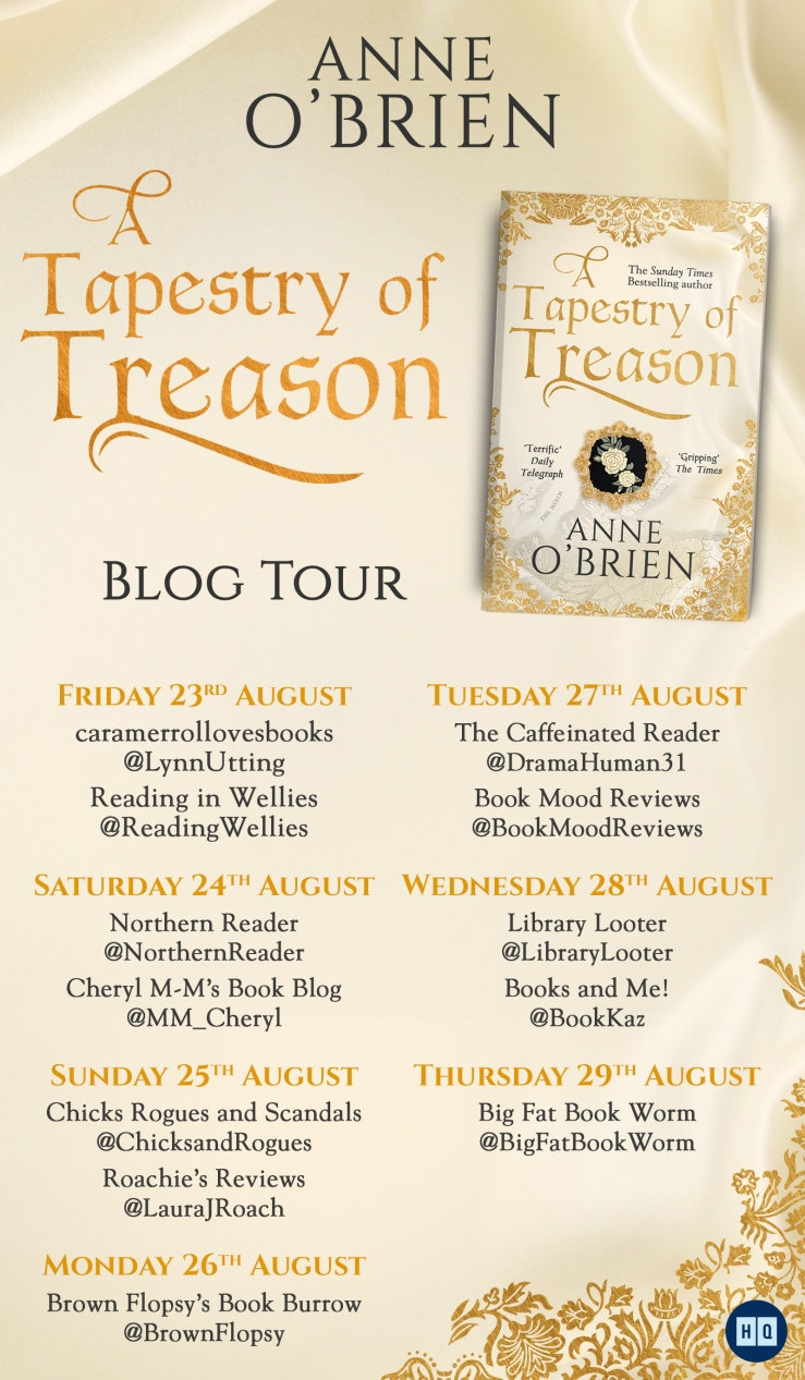 A Tapestry of Treason Blog Tour (1)