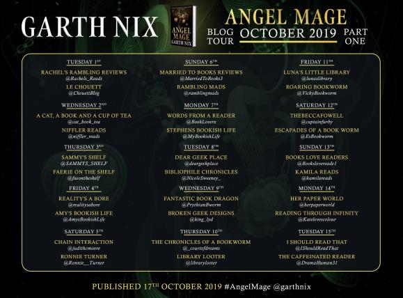 ANGEL MAGE BLOG TOUR PART 1