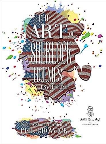 The Art of Sherlock Holmes USA 1 - book cover