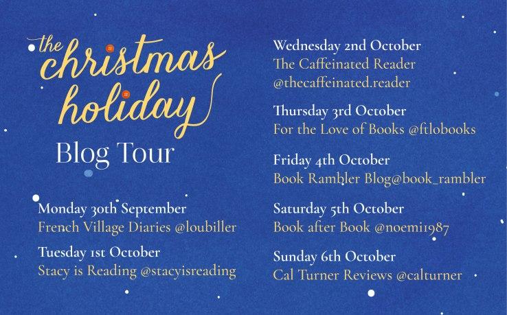 The Christmas Holiday blog tour poster.jpg