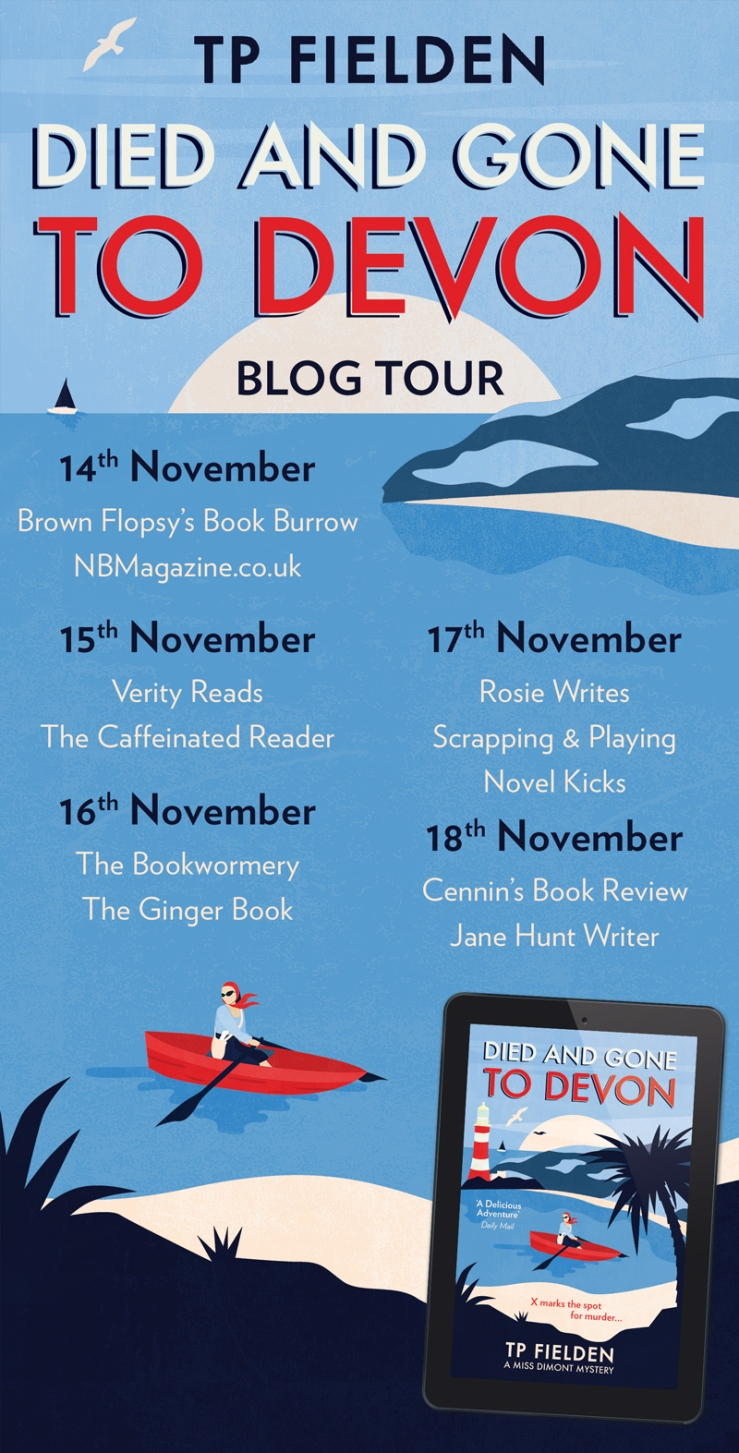 Died and Gone to Devon Blog Tour Banner