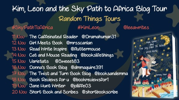 Sky Path to Africa BT Poster
