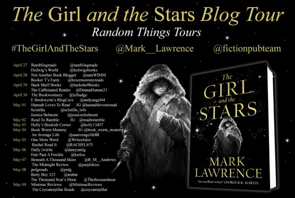 The Girl and the Stars BT Poster