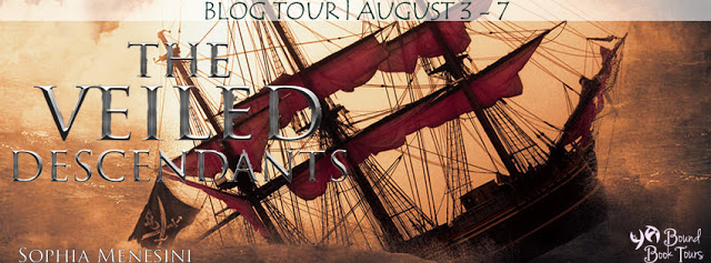 The Veiled Descendants tour banner