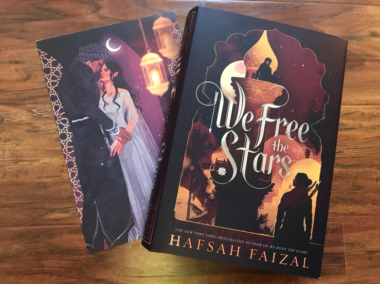 We Free the Stars US hardcover and Artprint
